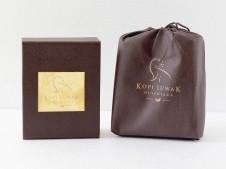 Kopi Luwak Nusantara Premium Grade Gold Plate